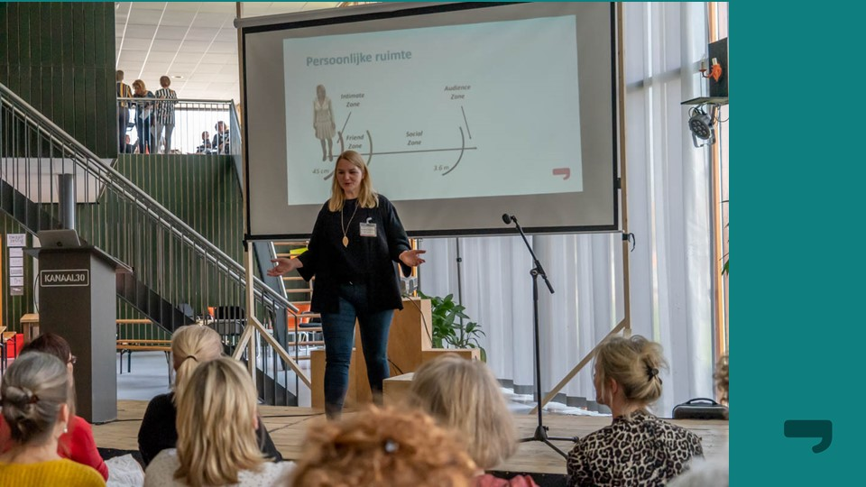 Presentatietraining, speechen, afstand tot publiek